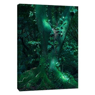 "PTM Images 9-108358  PTM Canvas Collection 10"" x 8"" - ""Hawaii Green Korea"" Giclee Trees Art Print on Canvas"