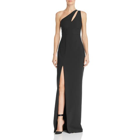 Likely Womens Roxy Evening Dress One Shoulder Cut-Out - Black