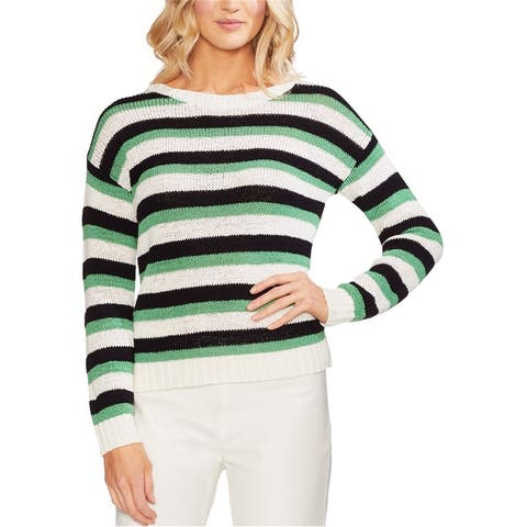 Vince Camuto Womens Drop Shoulder Pullover Sweater