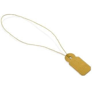 "3/8 x 13/16"" Gold Jewelry Price Tag"