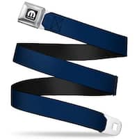 Mopar Logo Full Color Black White Navy Webbing Seatbelt Belt Fashion Belt