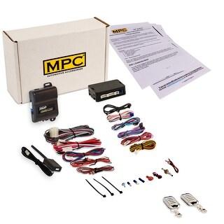 Complete Remote Start & Keyless Entry Kit For 2009-2014 Chevrolet Traverse w/ Bypass Module - EZ Installation