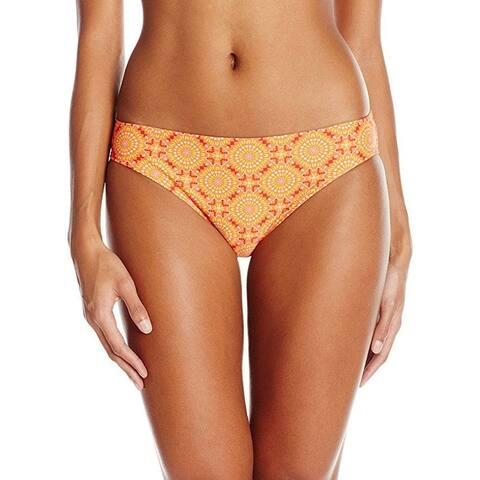 prAna Women's Lani Bottom, Neon Orange Sundial, Large