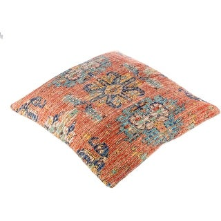 Link to The Curated Nomad Lasuen Woven Jute 26-inch Floor Pillow Cover Similar Items in Decorative Accessories
