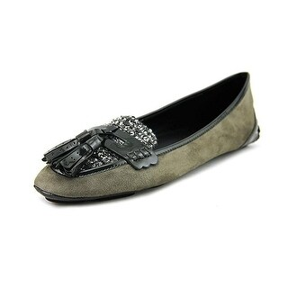 Elie Tahari Reese Gray Suede Loafers (4 options available)
