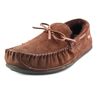 Lamo Santa Fe Men Moc Toe Suede Brown Slipper