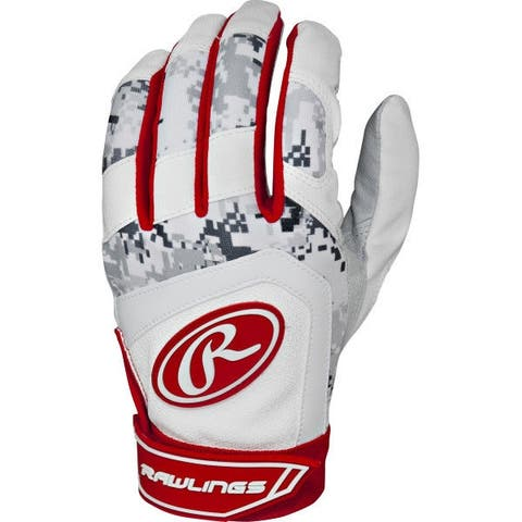 Rawlings 5150 Batting Gloves (Scarlet Red/Youth Large)