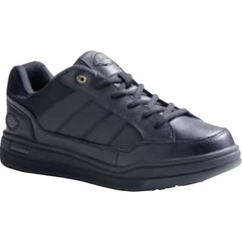 Dickies Women's Athletic Skate Black Smooth Leather