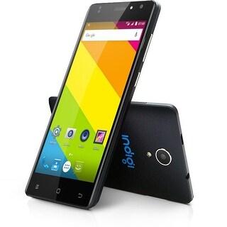 "Indigi Unlocked QuadCore 5.0"" Android 6.0 DualSim 4G LTE Smart Phone WiFi AT&T T-Mobile - Black"