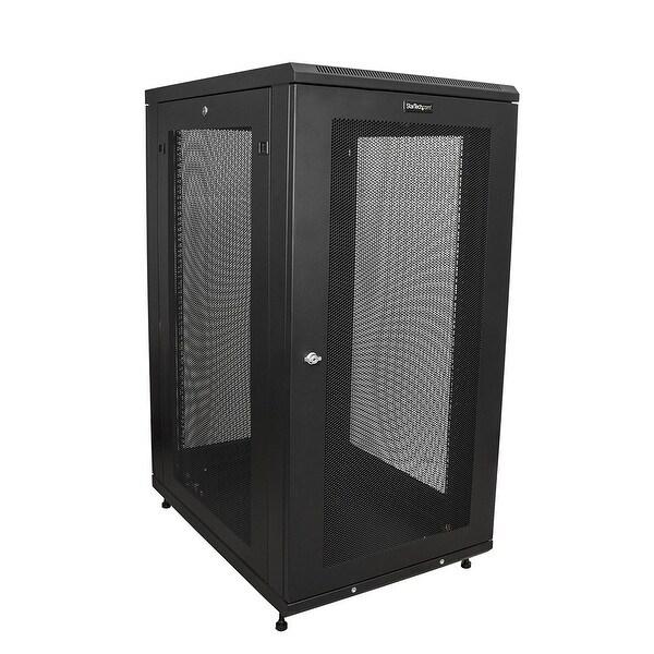 Startech - Rk2433bkm 24U Svr Cabinet Or Networkncabinet 24U Svr Rack Enclosure