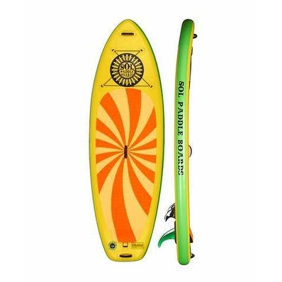 "SOL Paddle Boards SOLshine SUP 9' 6"" Inflatable SUP up to 275 lbs"