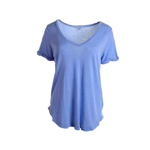 46e34e3d3c Splendid Womens Pullover Top Cotton Short Sleeves