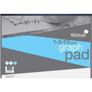 "50 Sheets - Silvine A3 Professional Graph Pad 16.5""X12"""