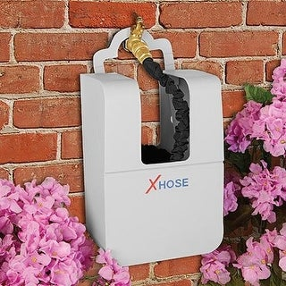 XHose Expandable Hose Keeper, Holds 25 to 100 Feet of Flexible Hose Storage