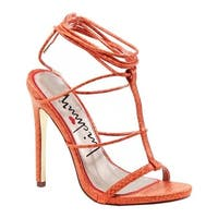 Luichiny Women's Her Story Sandal Coral Snake Imi Leather