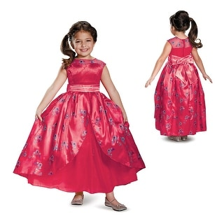 Girls Deluxe Elena Ball Gown Disney Costume