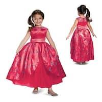 Girls Deluxe Elena Ball Gown Disney Costume