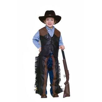 Dress Up Cowboy Boys Kids Halloween Costume Small 4-6 - Small (size 4-6)