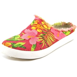 Coconuts By Matisse Islander Round Toe Canvas Mules