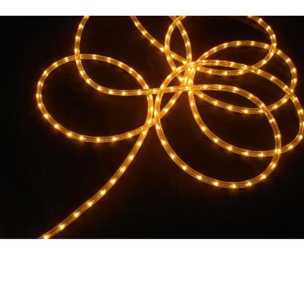 18' Gold Indoor/Outdoor Christmas Rope Light Decoration