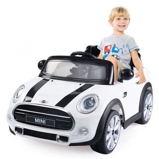Costway BMW MINI Hatch 12V Electric Kids Ride On Car Licensed MP3 RC Remote Control|https://ak1.ostkcdn.com/images/products/is/images/direct/8a08f4272bcc69a6c74985eaee119ffd4169a351/Costway-BMW-MINI-Hatch-12V-Electric-Kids-Ride-On-Car-Licensed-MP3-RC-Remote-Control.jpg?impolicy=medium