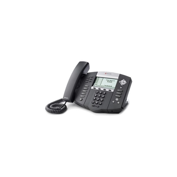 Refurbished Polycom 2200-12651-025 SoundPoint IP 650 PoE Display Phone