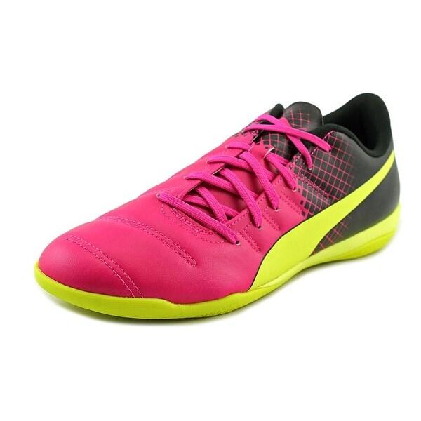 Puma evoPOWER 4.3 Tricks IT Women Round Toe Leather Yellow Sneakers