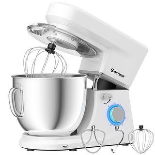 Link to Costway Tilt-Head Stand Mixer 7.5 Qt 6 Speed 660W with Dough Hook, Similar Items in Kitchen Appliances