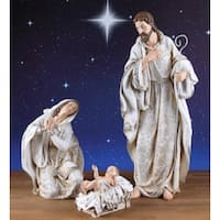 """3 Piece Holy Family Nativity Figures 22.5"""" - Brown"""
