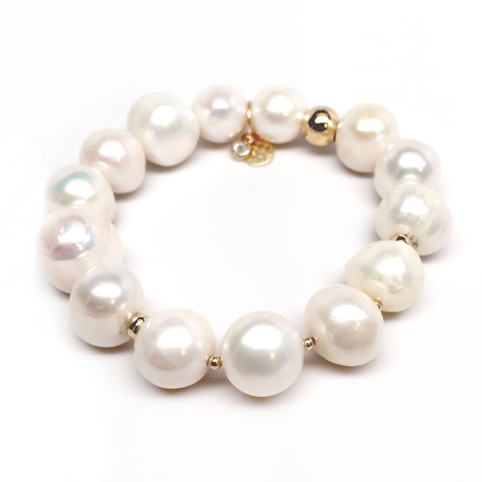 "Freshwater Pearl Sophia 7"" Bracelet - Thumbnail 0"