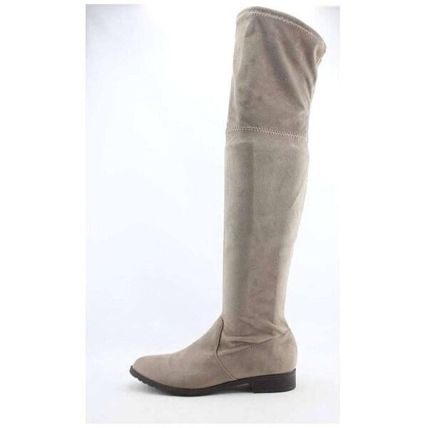 Unisa Womens adivan Fabric Closed Toe Over Knee Fashion Boots