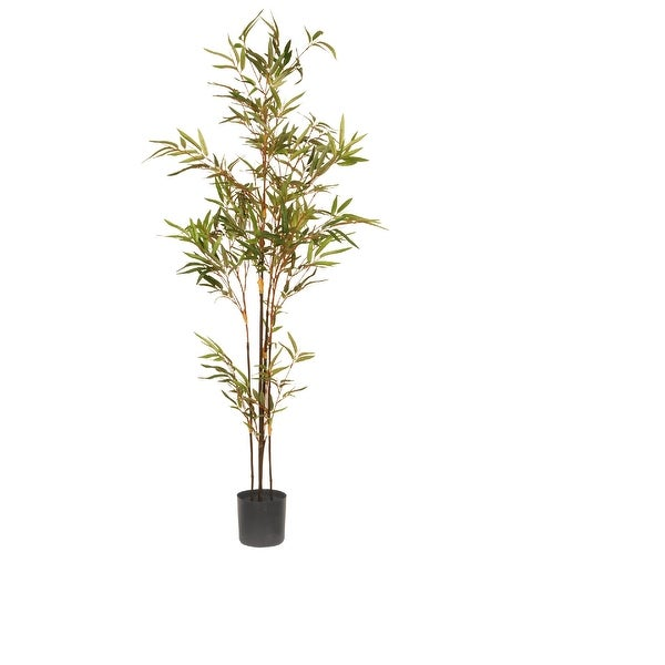 4' Potted Japanese Artificial Bamboo Tree - N/A