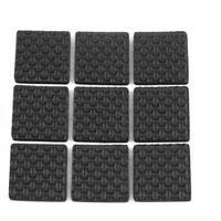 9pcs 25mm Square Self Adhesive Chair Table Sofa Furniture Pads Floor Protectors