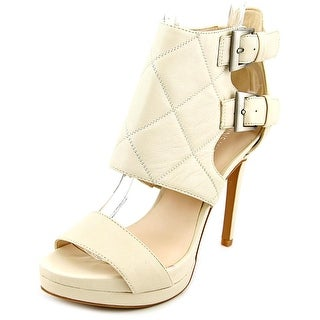 Nine West Brake Dance Open Toe Synthetic Platform Heel