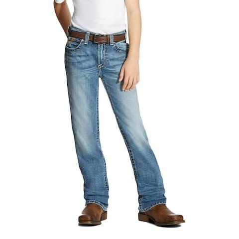 Ariat Western Denim Jeans Boys B4 Bonner Bootcut Canyon
