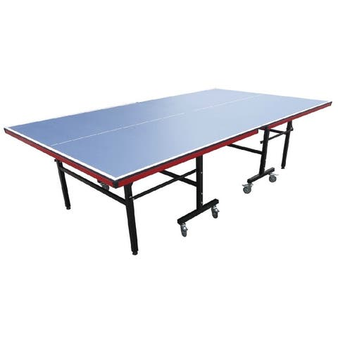 9' Recreational Blue Table Tennis or Ping Pong Game Table - N/A