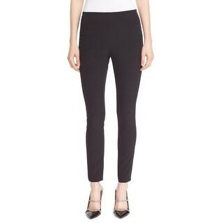 Theory NEW Solid Black Women's Size 4 Stretch Skinny Dress Pants