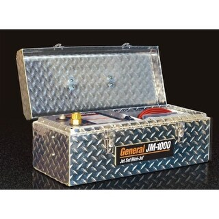 General Pipe Cleaners JM-1000-B 1500 PSI 1.4 GPM Portable Mini-Jet Drain Cleaner from the Jet-Set Series