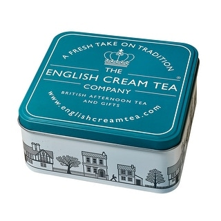 English Cream Tea Gift Tin - Tea Towel, Sugar Heart, And Breakfast Tea Kit', Amazon's value is 'Gift Tin (Turquoise Gift Tin)