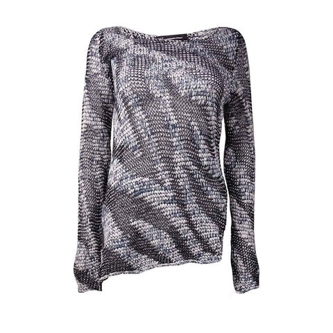 INC International Concepts Women's Asymmetrical Sweater