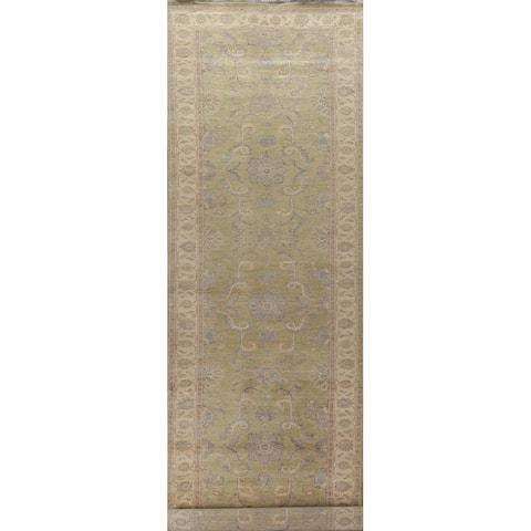 "Vegetable Dye Ziegler Oriental Staircase Runner Rug Wool Hand-knotted - 4'0"" x 20'6"""