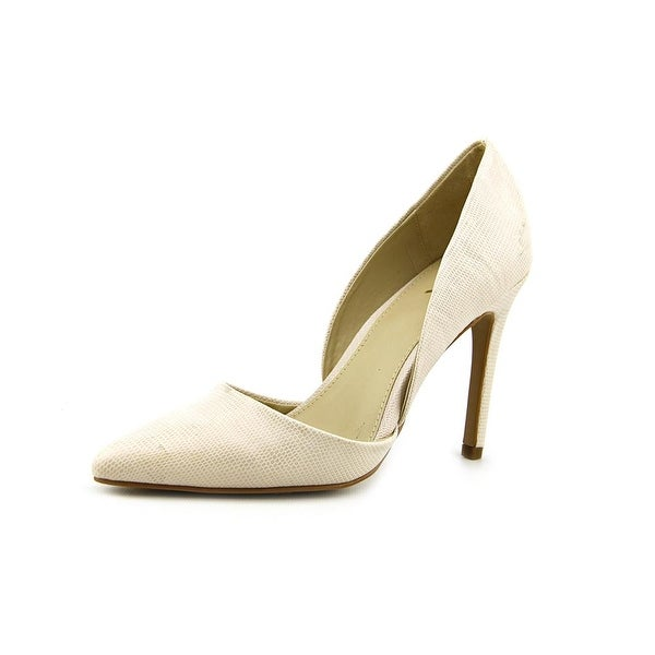 Mia Margo   Pointed Toe Synthetic  Heels