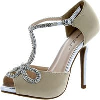 Bonnibel Womens Tiara-1 Dress Sandals Pumps Shoes