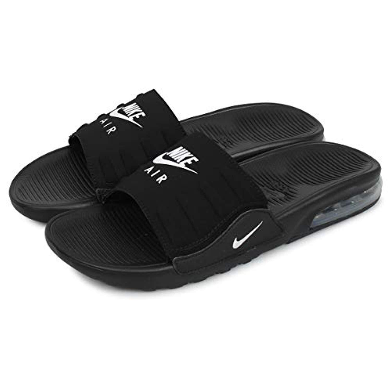Nike Men's Air Max Camden Slide Black/White BQ4626-003 (Size: 12)