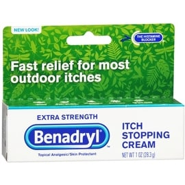 Benadryl Itch Stopping Cream Extra Strength 1 oz
