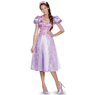 Disguise Rapunzel Deluxe Adult Costume - Purple (4 options available)