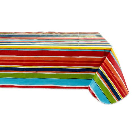 DII Summer Vinyl Tablecloth