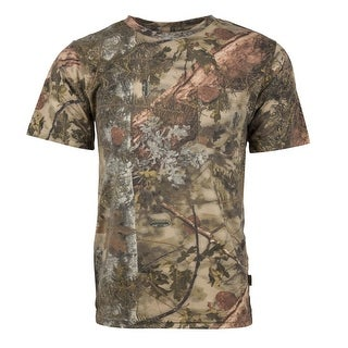 King's Camo Classic Cotton Short Sleeve Shirt Mountain Shadow - Camouflage