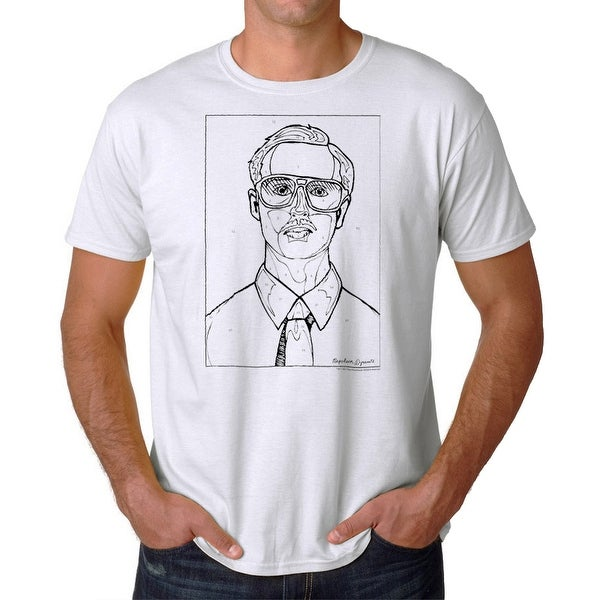 c83e0ba1a Shop Napoleon Dynamite Kip By Numbers Men's White Funny T-shirt - On Sale - Free  Shipping On Orders Over $45 - Overstock - 17066473