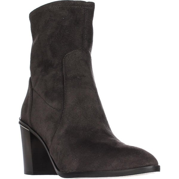 MICHAEL Michael Kors Chase Ankle Booties, Charcoal